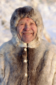 Piotr Galkin, a Sami elder from the village of Lovozero, Kola Peninsula, Murmansk, NW Russia. 2005