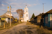 The Church of St. Nikolai is the focal point of Pogost Village. Ryazan Province, Russia. 2006