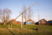 A well in the village of Giblitsy. Ryazan Province, Russia. 2006